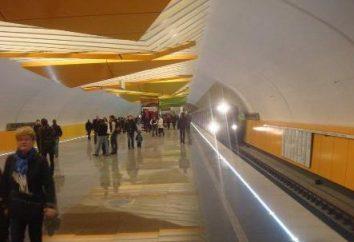 """Stazione """"Lermontovskiy prospettiva"""". Metro ha fatto un passo fuori Mosca"""