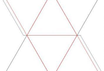 Wir werden Ihnen sagen, wie ein Papier Oktaeder zu bauen