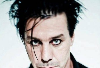 Till Lindemann: biografii i życiu osobistym wokalista Rammstein