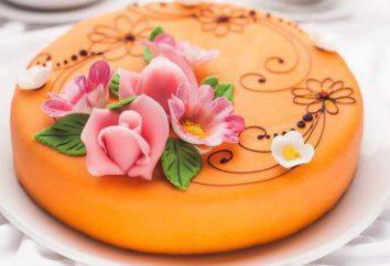 bolo de Mastic costurado: método de cozinhar