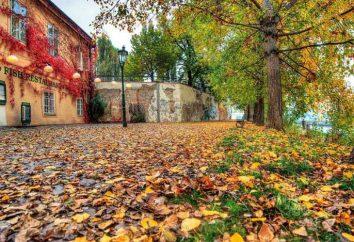 Praga w październiku: pogoda, badania zabytków, porady dla podróżujących
