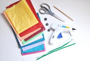 Anwendungen 8. März mit den Händen. Kreativität der Kinder: Applikationen, Handwerk