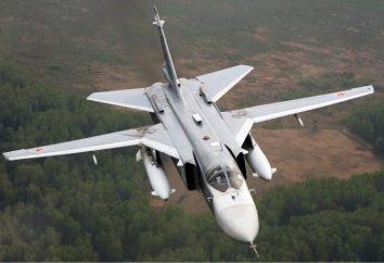 Caratteristiche SU-24 bombardieri (foto)