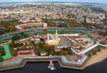 Descrição de São Petersburgo: paisagens, arquitetura, museus