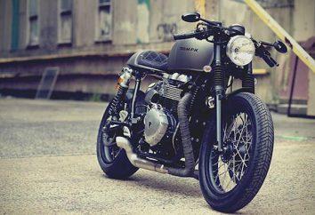Motocykle Triumph: opis, numer modelu