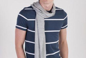 Wie kann ein Mensch Taschentuch und originelles Aussehen binden