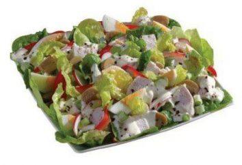 Anglais salade festive: recette