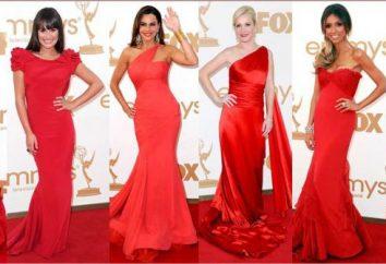 vestito rosso Popolare sul red carpet del mondo