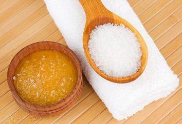 Gommage au sucre du corps – recette