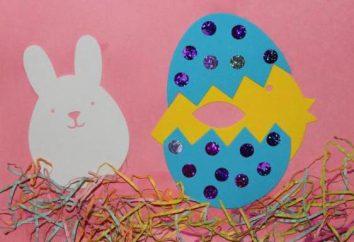 Creatività dei bambini: applicazioni di Pasqua
