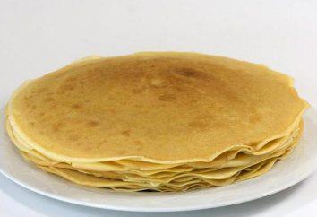 recette de crêpes pour 1 litre de lait (mince)