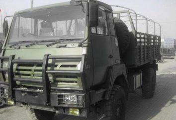 """Wywrotka """"Shanxi"""" (Shaanxi): Dane techniczne. chińskie ciężarówki"""
