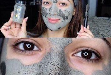 A argila máscara facial: comentários