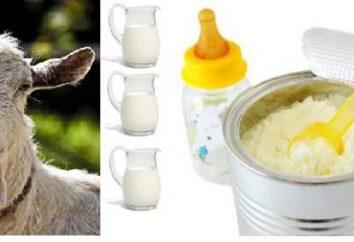 Uma mistura de leite de cabra: comentários, preço e composição. Quais são as vantagens de misturas à base de leite de cabra?