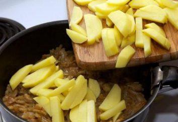 Comment faire frire les pommes de terre dans une casserole: les champignons, les oignons, la viande? Comment faire frire les pommes de terre avec une croûte? recettes