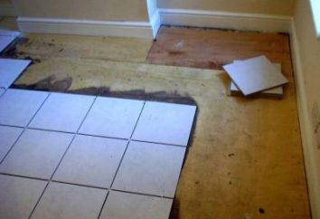 ¿Puedo poner un azulejo en el suelo de madera? Y cómo hacerlo correctamente: una descripción del proceso