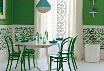 Tricks von zu Hause Komfort: eine Farbe mit grünem kombiniert?