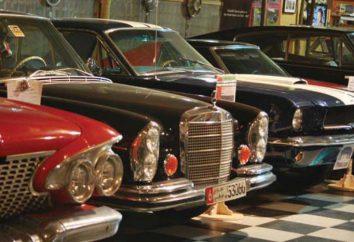 Oldtimer-Museum in Moskau und den Vororten von St. Petersburg