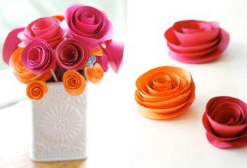 flor de papel – peça elegante de jóias que você pode fazer sozinho!