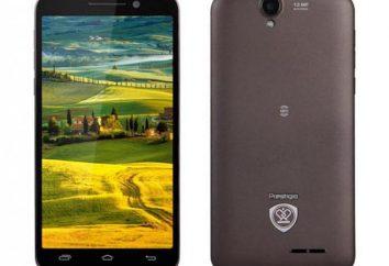 Smartfony Prestigio: opis, dane techniczne, opinie