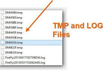Tymczasowe TMP-file: co to jest i co to otworzyć?