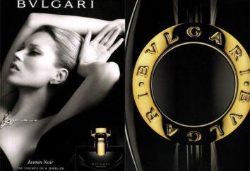 """Bvlgari """"Jasmin Noir"""" – o logotipo de luxo sofisticado"""