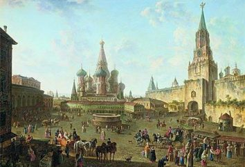 información básica sobre Moscú. Historia de Moscú. moderna de Moscú