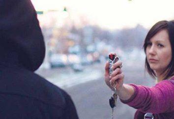 Tränengas, Gaskartuschen für die Selbst