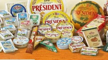 """Cheese """"President"""": composizione, gamma e produttore"""