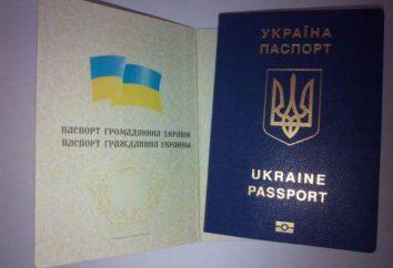 Passaporte da Ucrânia: condições de recepção, procedimento de emissão