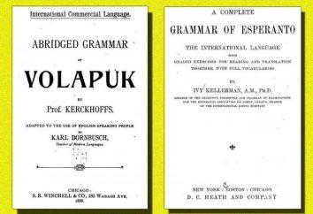 Volapük – è artificiale ed è da tempo una lingua morta