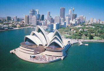 Sydney (Australien) – der Haupthafen des Grün Kontinent