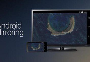 Reflejo de la pantalla de Samsung – lo que es esta característica?