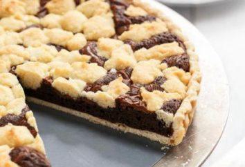 """Grafici a torta con """"Nutella"""". ricette e tecniche di cottura diverso"""