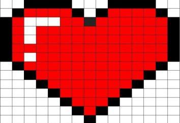 Jak narysować serce na komórkę, na trzy sposoby