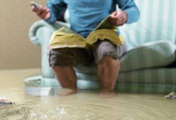 ¿Qué pasa si los vecinos inundados, que viven a través de la inundación con pérdidas mínimas