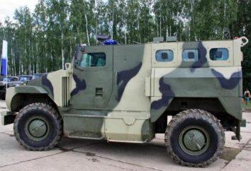 """Samochód pancerny """"Bear"""" VPK-3924: oznaczenie, dane techniczne"""