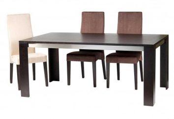 Mesas para sala de jantar. Como escolher?