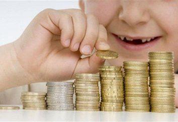Accantonamento di assegni per i figli. La dimensione e tipi di benefici. Quali documenti sono necessari per gli assegni familiari