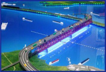 Die Länge der Brücke über die Straße von Kertsch ist noch nicht genau bekannt. Die Geschichte, Gegenwart und Zukunft der Brücke über die Straße von Kertsch