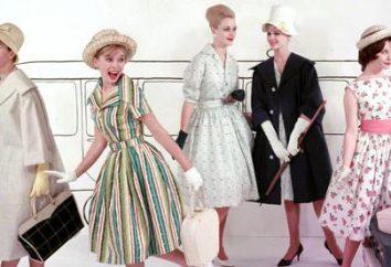 Klassischer englischer Stil des Kleides. Kennzeichnend ist, was sind die Komponenten des englischen Stil