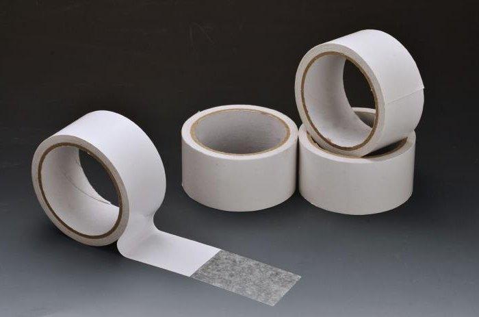 Biadesivo imballaggio nastro adesivo alluminio trasparente