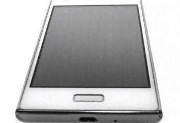Smartphone entry-level LG E612: Caratteristiche del software e hardware caratteristiche
