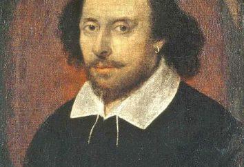 Shakespeare: la lista. Uilyam Shekspir: la creatività