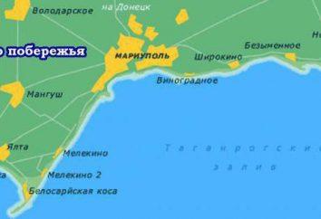 Resto sul mare di Azov. Descrizione del Golfo di Taganrog