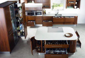 acessórios de cozinha: uma variedade de materiais para a fabricação de