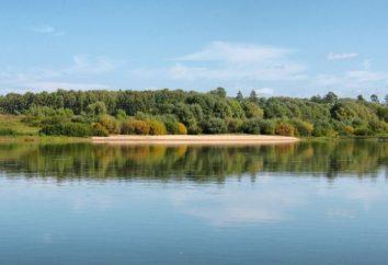 Okha é um rio de belas espécies