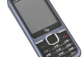 Telefon Fly DS123: specyfikacje, konfiguracja, recenzje