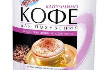 """Kawa """"Utrata wagi przez tydzień Cappuccino"""": recenzje i zalecenia"""