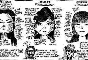 Os chineses são diferentes do japonês: ensinar diferenças externas